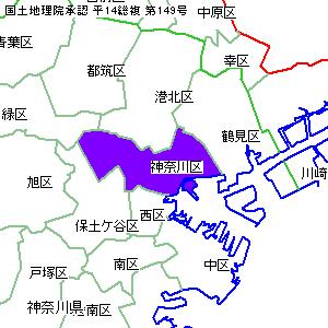 市 ハザード 横浜 鶴見 マップ 区